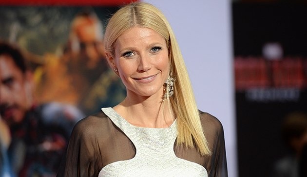 Gwyneth Paltrow at the Hollywood premiere of 'Iron Man 3' on Wednesday