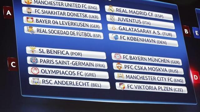 Champions League - Sorteo intenso: ¡Barcelona-Milan y Real Madrid-Juventus!
