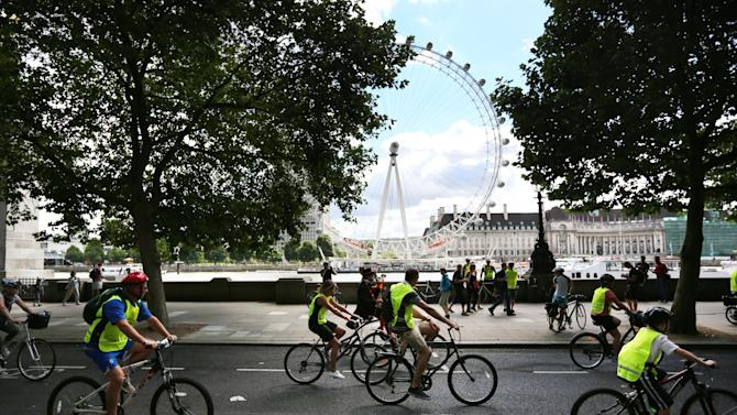 50,000 Riders Participate In A Celebration Of Cycling