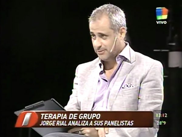 Jorge Rial, analista: terapia grupal en Intrusos