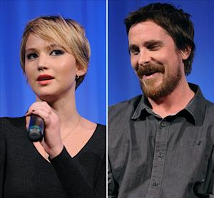 "Jennifer Lawrence Wanted to Kiss ""Batman"" Christian Bale In American Hustle, Not ""Fatman"""