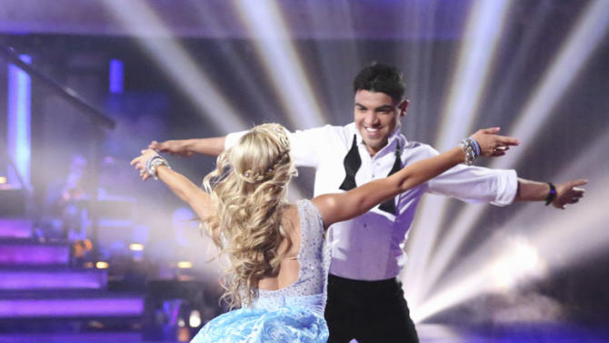 Lindsay Arnold and Victor Ortiz (4/1/13)