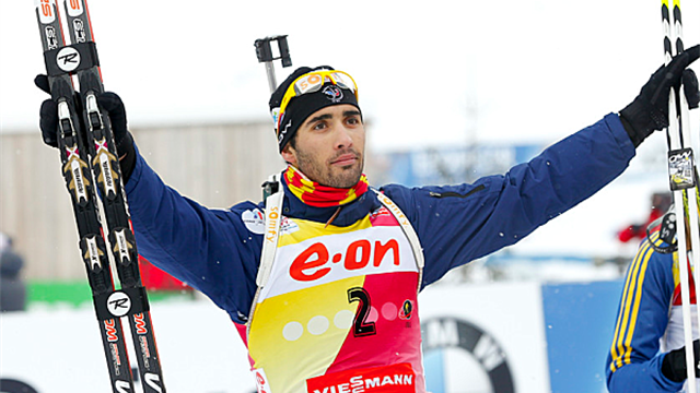Biathlon - Fourcade takes 27th World Cup victory