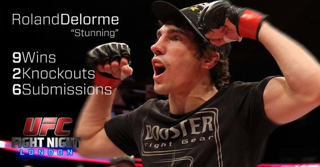 Roland Delorme UFC Fight Night London