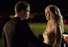 Joseph Morgan, Candice Accola | Photo Credits: Curtis Baker/The CW