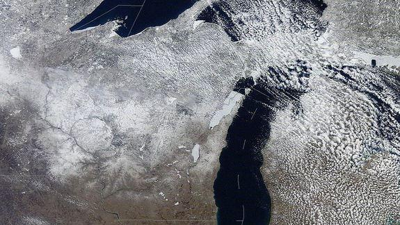 Great Lakes' Low Levels May Get Spring Boost