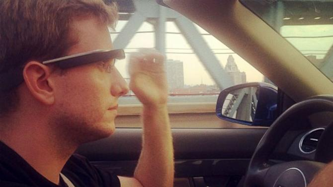 Wearing Google Glass While Driving Could Earn You a Ticket