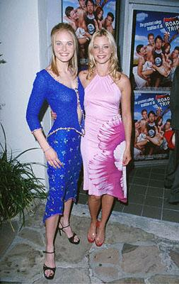 Rachel Blanchard and Amy Smart at the Mann Village Theater premiere of Dreamworks' comedy Road Trip