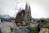 Barcelona's iconic Sagrada Familia cathedral. The leader of Spain's Catalonia region has rallied crowds cheering for independence to fight for 'freedom' in snap elections on Sunday that he has cast as a vote for nationhood.