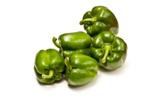 Go green with a green bell pepper.