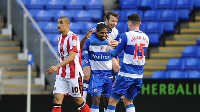 Football - Reading put Blades to the sword
