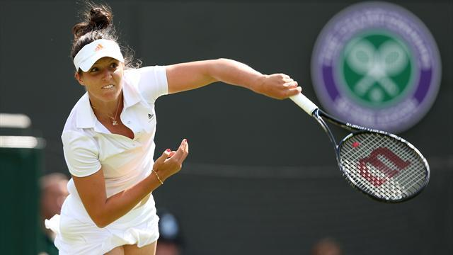 Tennis - Robson claims pressure derailed her Wimbledon ambitions