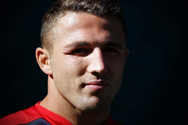 England's Sam Burgess switched rugby codes from league to union in 2014 and made his international debut against France in August 2015