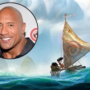 Dwayne Johnson Signs On to Sing in Disney's Animated Musical 'Moana'