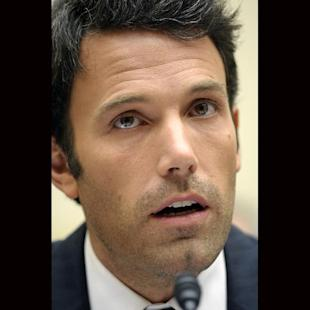 """File-This March 8, 2011, file photo shows actor Ben Affleck testifying  before the House Foreign Affairs, Africa, Global Health, and Human Rights Subcommittee hearing in Washington.  Affleck requested that the PBS documentary series """"Finding Your Roots"""" not reveal he had a slave-owning ancestor, according to emails published online by whistleblower site WikiLeaks, and the information never appeared on the program. PBS and the host of the show, Harvard scholar Henry Louis Gates, say they didn't censor the slave owner details. Instead, more interesting ancestors of the actor emerged and Gates chose to highlight them in the October segment, they said in separate statements posted on the PBS website. (AP Photo/Cliff Owen, File)"""