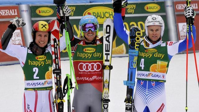 Alpine Skiing - Ligety seals World Cup title with giant slalom win