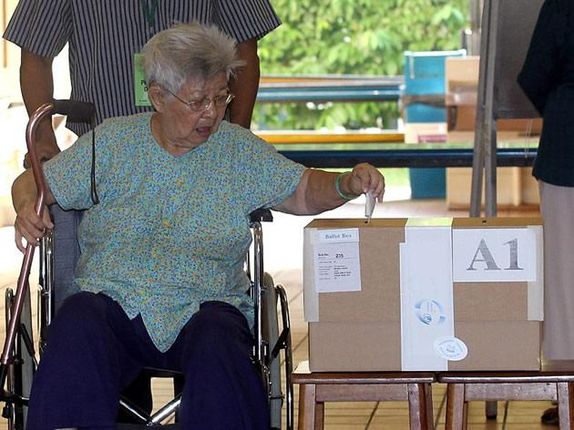 The single-seat constituency is expected to be hotly contested with as many as five parties -- including the Workers' Party, Singapore Democratic Party, the Singapore Democratic Alliance and even the Reform Party. (AFP file photo)