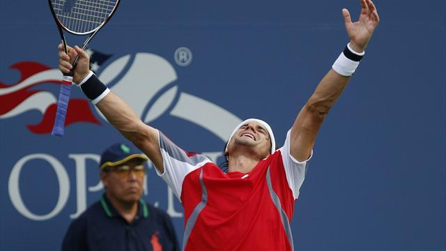 Ferrer outlasts Tipsarevic in five-set slugfest