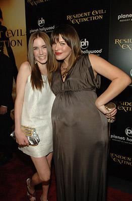 Joe Hursley and Madeline Carroll at the Planet Hollywood Las Vegas premiere of Screen Gem's Resident Evil: Extinction