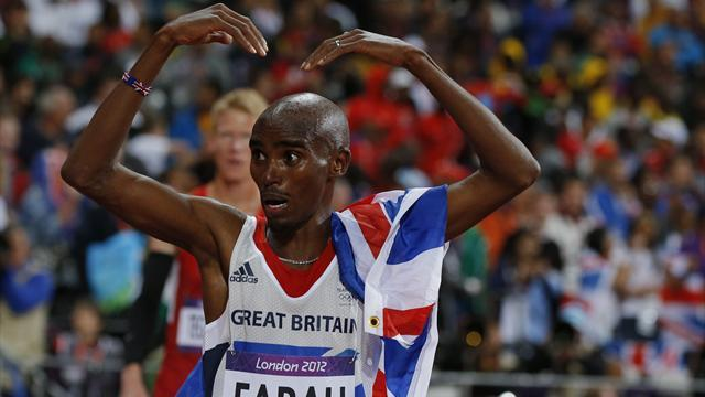 Farah completes Olympic gold double for Britain