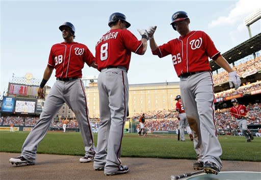 Nationals beat Orioles 3-1