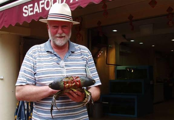 Bob Elwood, Queen's University Belfast, led a study showing that crabs respond to a mild electrical shock in a way consistent with pain.