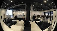 The Mercedes-Benz Style furniture collection at the Salone Internazionale del Mobile