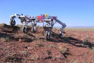 NASA's ATHLETE (All-Terrain Hex-Legged Extra-Terrestrial Explorer) robotic vehicle