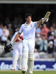Alastair Cook has taken over captaincy of England's Test side from