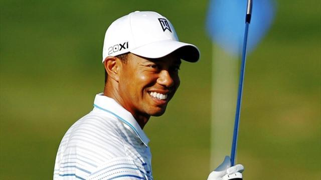 Golf - Sharper short game gives Tiger reason to smile