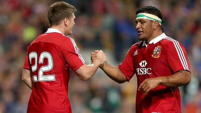 Rugby - Farrell hails powerhouse brothers