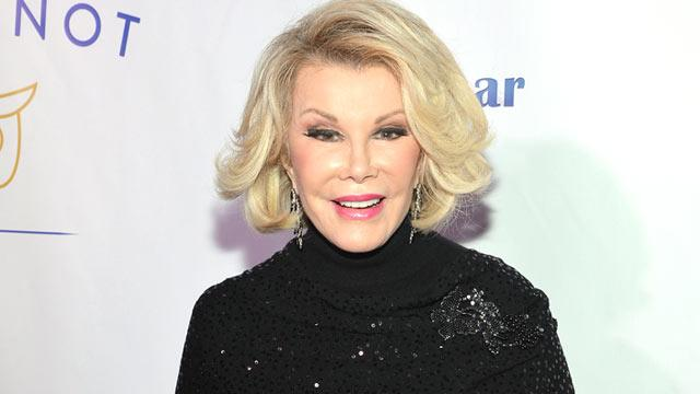 Joan Rivers Refuses to Apologize for Holocaust Joke