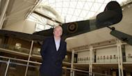 Project leader David Cundall stands in front of a Spitfire at the Imperial War Museum in London on November 28, 2012. An archaeologist involved in a search for dozens of rare Spitfire planes said to have been buried in Myanmar, has played down doubts about the existence of the rumoured trove
