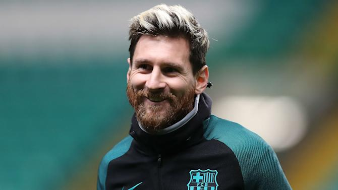 VIDEO: Even Barcelona team-mates cannot stop Messi