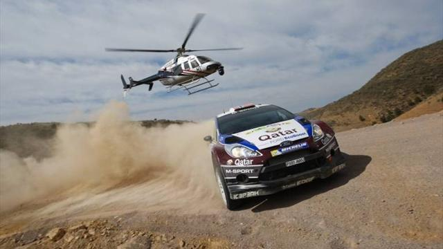 Mexico Rally - Ostberg's Mexico victory bid ends