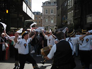 Morris dancing, old school