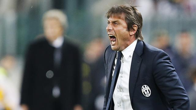 Serie A - Fiery Conte takes the plaudits for another Juve title