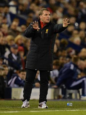 After securing his first win as Liverpool manager, Brendan Rodgers awaits a reunion with Swansea