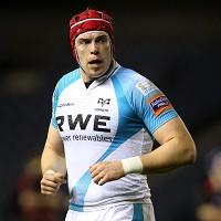 Ospreys skipper Alun Wyn Jones hailed his side's composure late in the game