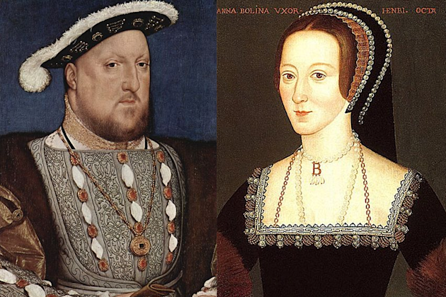 7. Henry VIII and Anne Boleyn
