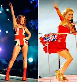 Which Union Jack Dress Looked Better on Spice Girl Geri Halliwell?