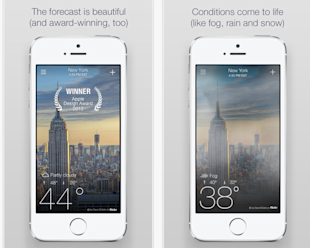 6 Best Business Apps for iPhone 6 image yahoo weather.png