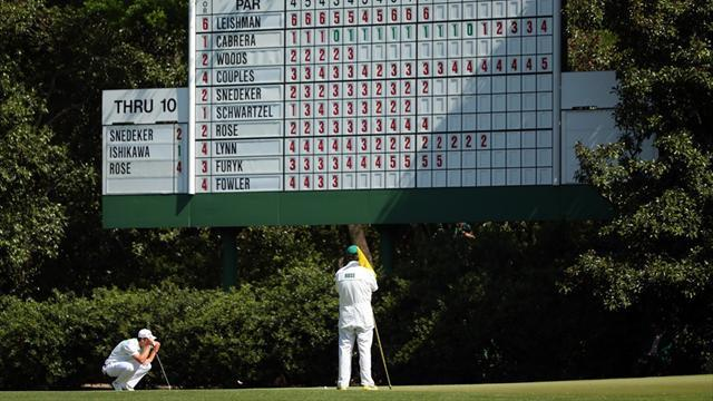 Masters Tournament - The Masters LIVE: Second round action