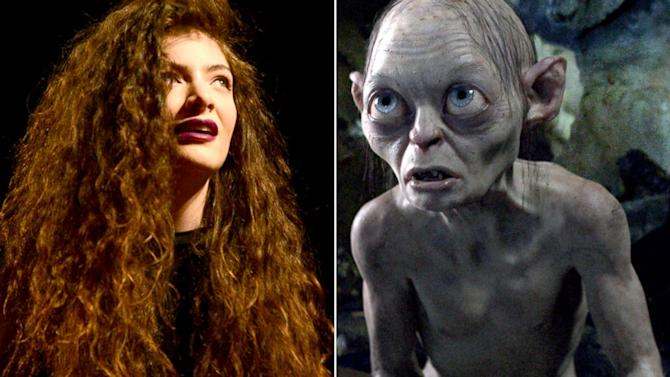 Singer Lorde Admits to Looking Like Gollum When Performing