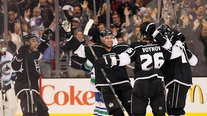Vancouver Canucks v Los Angeles Kings