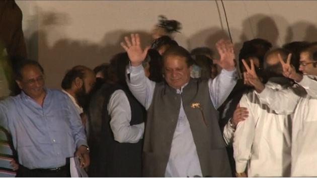 Sharif triumphs in historic Pakistan elections