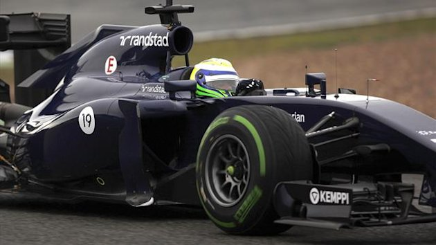 Williams Formula One driver Felipe Massa of Brazil