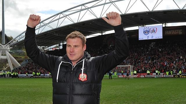 Championship - Flitcroft: Players gave everything