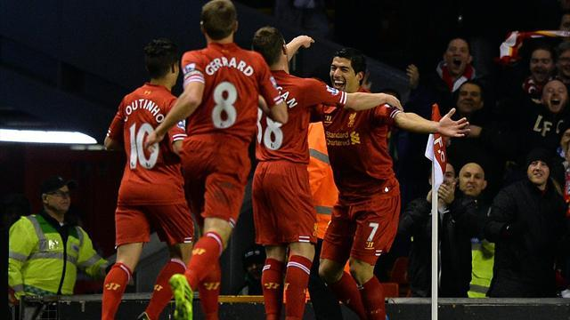 Premier League - Four-goal Suarez destroys Norwich
