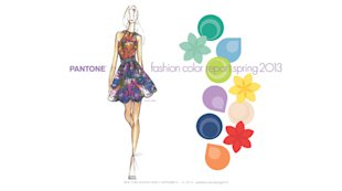 Pantone's Top 10 Fashion Colours for Spring 2013